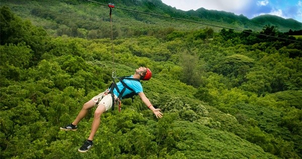 Zipline - Tirolesa - Alba hot spring resort